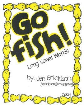 Go Fish!  (Long Vowel Words)