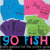 Go Fish Math Games for the Entire Year