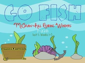 Go Fish-McGraw-Hill Reading Wonders Unit 1