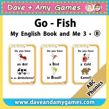 ABC Phonics: Go Fish Set B