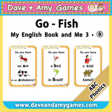 ABC Phonics: Go Fish Set B
