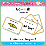 Go Fish/ Memory Match: CVC Phonics B (pictures and words)