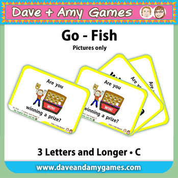 Go Fish/ Memory Match: CVC Phonics (pictures only)