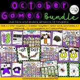 Go Fish/ Memory Spider/Bat Game Bundle: Phonic, Ten Frame, Base Ten, Word Family