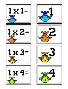 Go Fish Multiplication