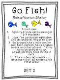 Go Fish Multiplication Bundle