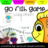 Go Fish -NG and -NK Word Family Games