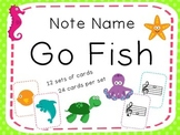 Go Fish- Note Names