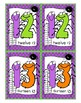 Go Fish Spiders Card Game: Number Recognition 0-20, Number Word, Base Ten Block