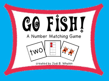Go Fish!  Number Recognition #1-20