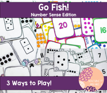 Go Fish Number Sense Edition