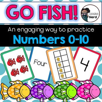 Go Fish! Multiple representation card game (Numbers 0 – 10) - Math Dollar Deals