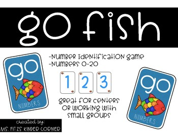Go Fish Numbers