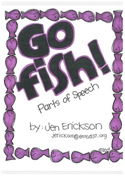 Go Fish! (Parts of Speech)