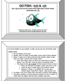 Go Fish Game Bundle- 7 Orton Gillingham Phonics/Reading Skills Games