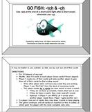 Go Fish Game Bundle- 7 Orton Gillingham Phonics/Reading Sk