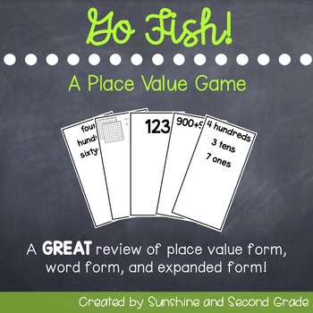 Go Fish Place Value