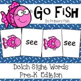 Sight Word Go Fish - PreK