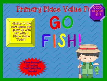 """Go Fish""  for Place Value Primary Version"