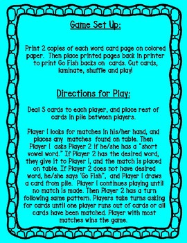 Go Fish - 'R' Blends