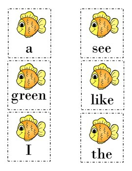 Go Fish! Reading Street Review Unit