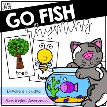 Go Fish - Rhyming