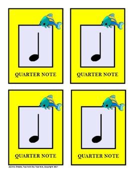 Go Fish-Rhythm Vocabulary