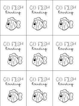 Go Fish || Rounding to the Nearest 10 and 100