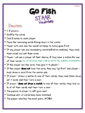Go Fish: STAAR Vocabulary Words (3rd Grade)