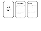 Go Fish Short/Long Vowel Match