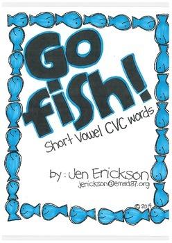 Go Fish! (Short Vowel CVC Words)