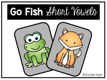 Go Fish - Short Vowel Sounds