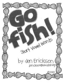 Go Fish! (Short Vowel Words)