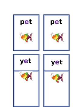 Go Fish Short e - easier