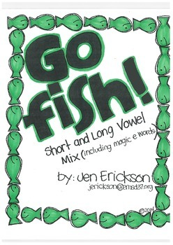 Go Fish!  (Short and Long Vowel Mix)