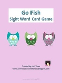 Go Fish Sight Word Card Game