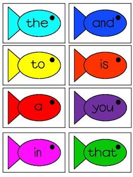 Go Fish Sight Word Edition