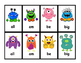 *FREEBIE* Go Fish Sight Word Literacy Game: Monsters