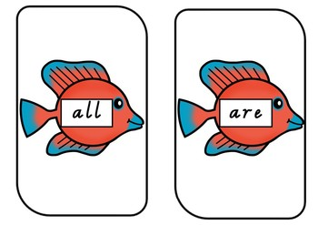 Go Fish Sight Words FULL PACK