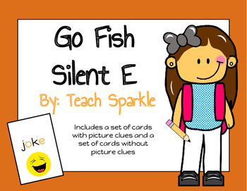 Go Fish Silent E Word Work Game
