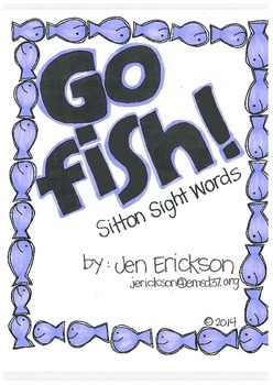 Go Fish! (Sitton Sight Words)