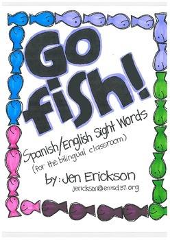 Go Fish! (Spanish/English Sight Words)