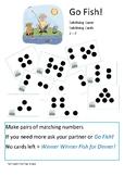 Go Fish - Subitising Dots 2 - 7