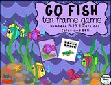 Go Fish Ten Frame Game