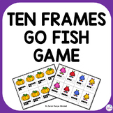Go Fish Ten Frames Math Game to 20 October NBT Kindergarte