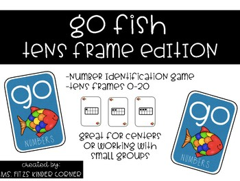 Go Fish Tens Frame Edition