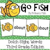 Sight Word Go Fish - Third Grade