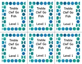 Go Fish: Treble Clef Note ID Lvl 1