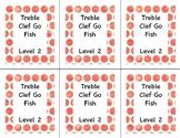 Go Fish: Treble Clef Note ID Lvl 2
