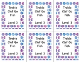 Go Fish: Treble Clef Note ID Lvl 3